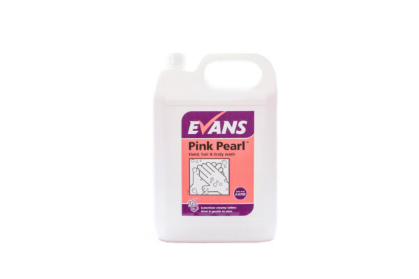 Evans Pink Pearl Hand Soap 5L