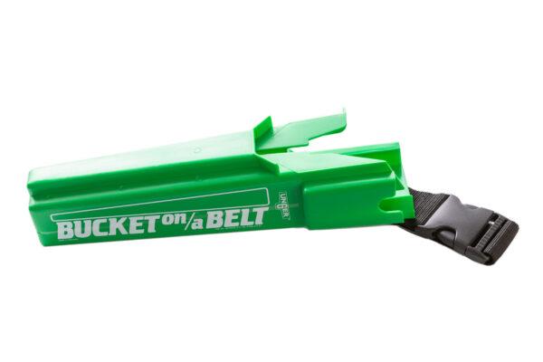 Green Bucket on a belt
