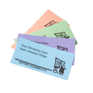 Window Cleaning Cards
