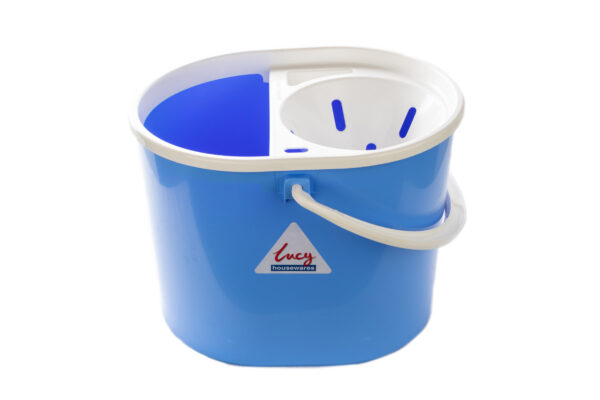 10L Lucy Plastic Bucket Blue