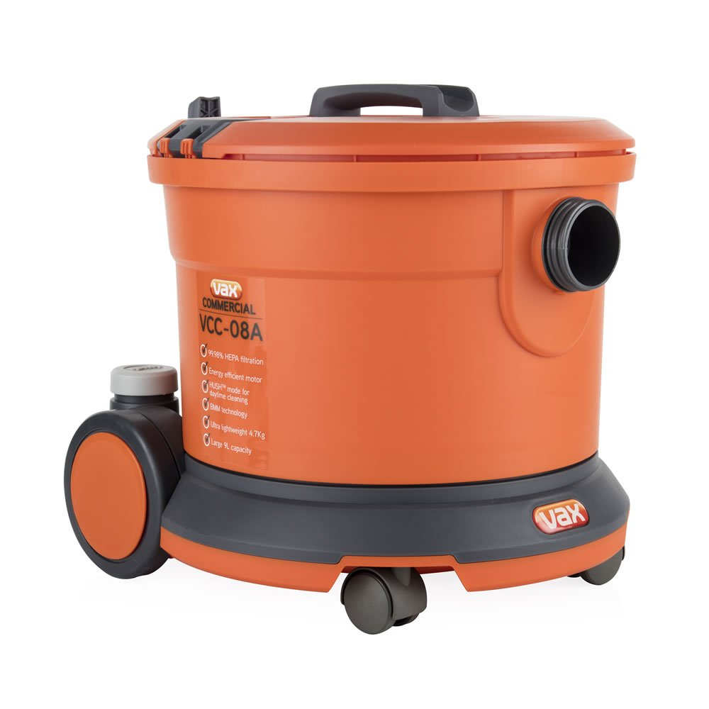 Vax Commercial Tub Vacuum Bagged 800w